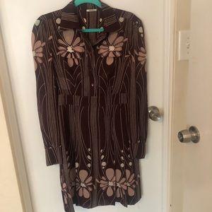 Miu Miu patterned statement dress!